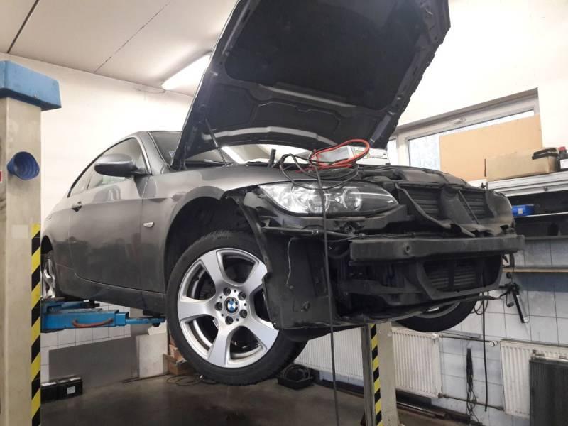 BMW 325d oprava nezávislého kúrenia OEM