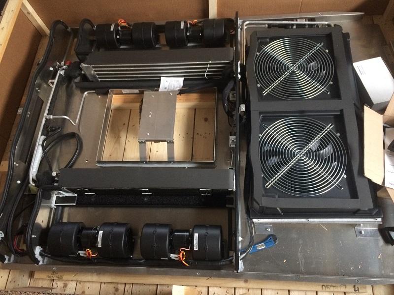 Isuzu montáž strešnej klimatizácie Webasto Diavia