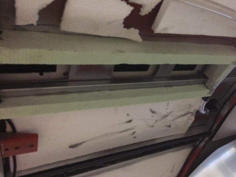 Karosa montáž strešnej klimatizácie