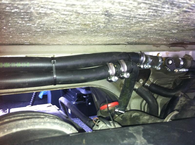 MB minibus montáž nezávislého kúrenia Webasto Thermo Pro 90